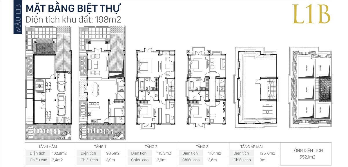 mặt-bằng-căn-l1b-diện-tích-198m2-biệt-thự-an-khang-villa-nam-cường