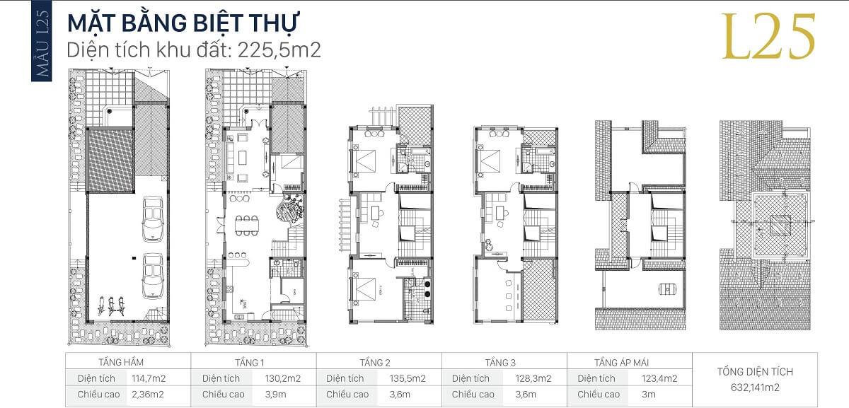 mặt-bằng-căn-l25-diện-tích-225,5m2-biệt-thự-an-khang-villa-nam-cường