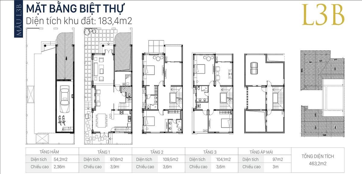 mặt-bằng-căn-l3b-diện-tích-183,4m2-biệt-thự-an-khang-villa-nam-cường