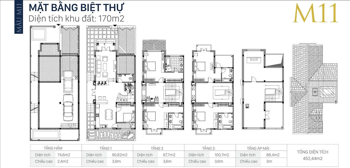 mặt-bằng-căn-M11-diện-tích-170m2-biệt-thự-an-khang-villa-nam-cường