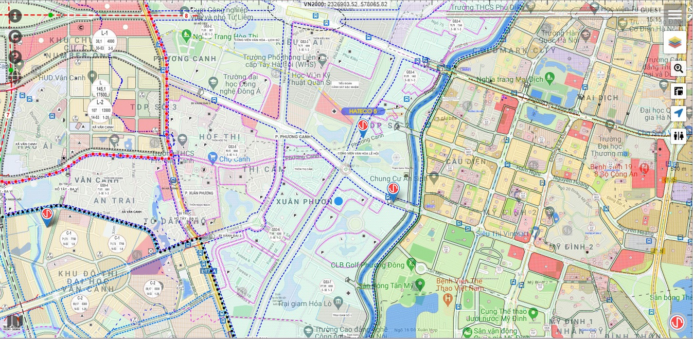 bản-đồ-quy-hoạch-quận-nam-từ-liêm-tuyến-đường-chạy-qua-hateco-5